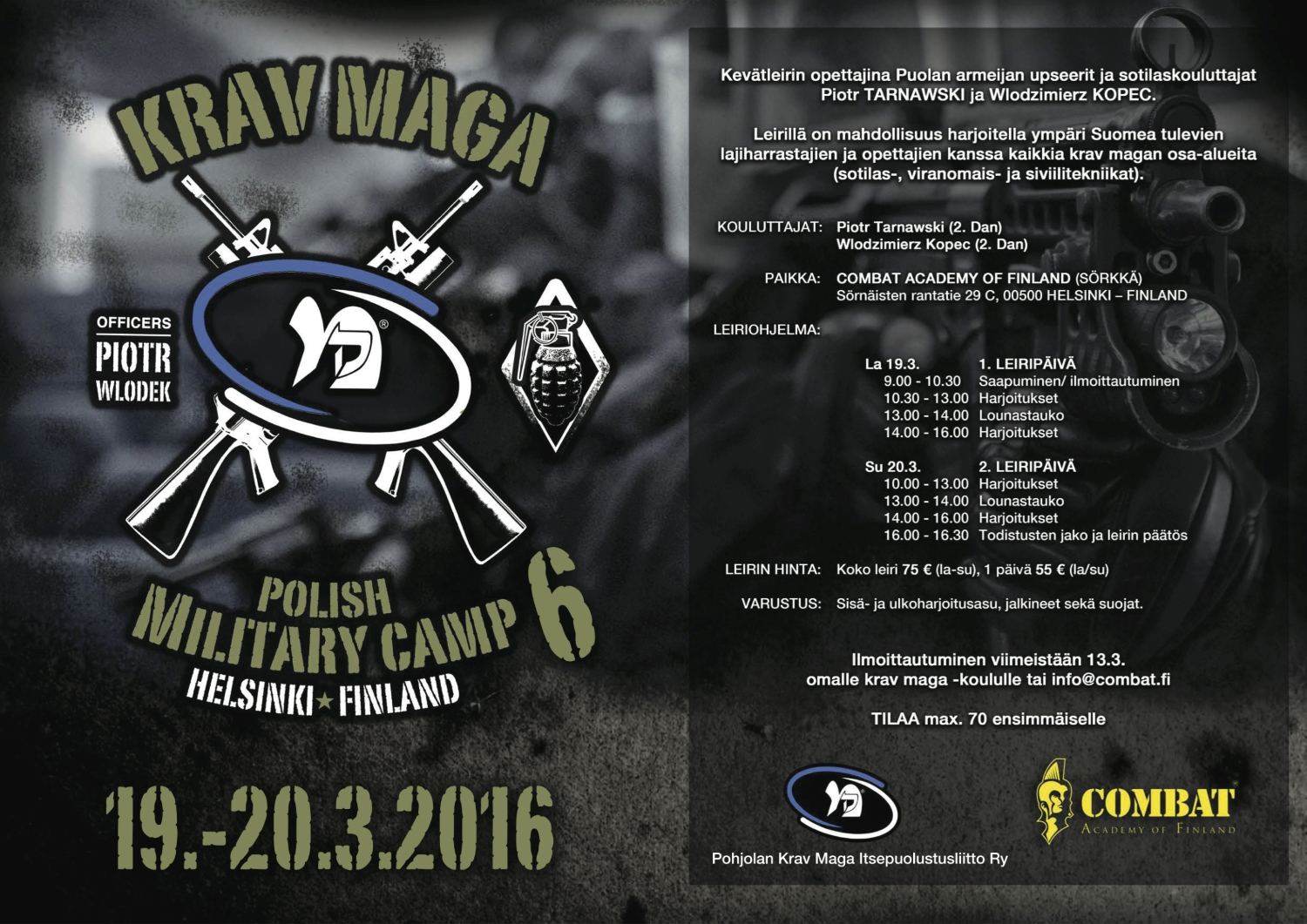 POLISH MILITARY CAMP 2016 nettiin